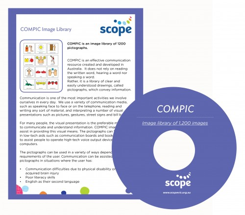 Image fo Compic CD and Instruction Card