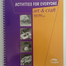 Activities for Everyone - Art & Craft ideas and instructions for engaging people with disabilities.