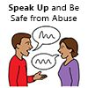 Speak up and be safe from abuse logo